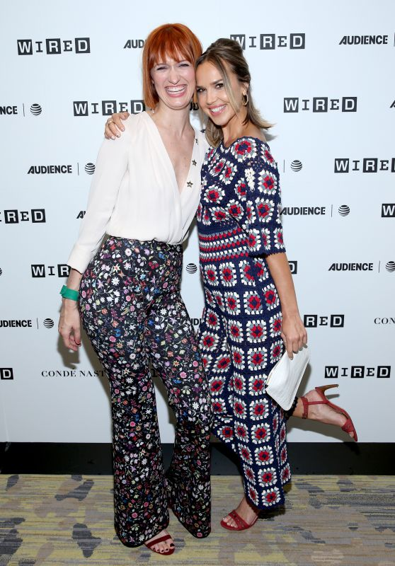 Arielle Kebbel, Breeda Wool & Arielle Kebbel – 2017 WIRED Cafe at Comic Con in San Diego