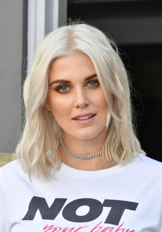 Ashley James - egaliTEE Launch in London 07/25/2017
