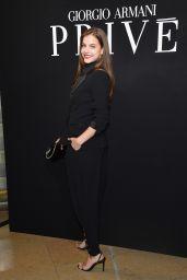Barbara Palvin – Giorgio Armani Prive Haute Couture FW17 Show 07/04/2017
