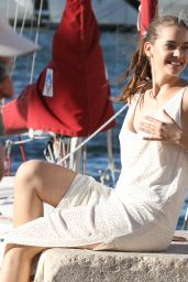 Barbara Palvin - Photoshoot in St Tropez 07/25/2017