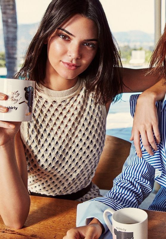 Bella Hadid and Kendall Jenner - Ochirly Campaign 2017
