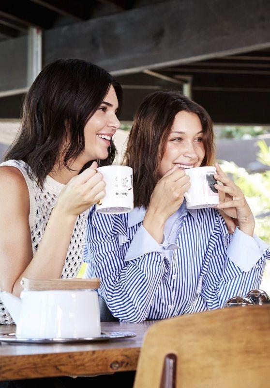 Bella Hadid & Kendall Jenner - Ochirly Campaign 2017 Photoshoot