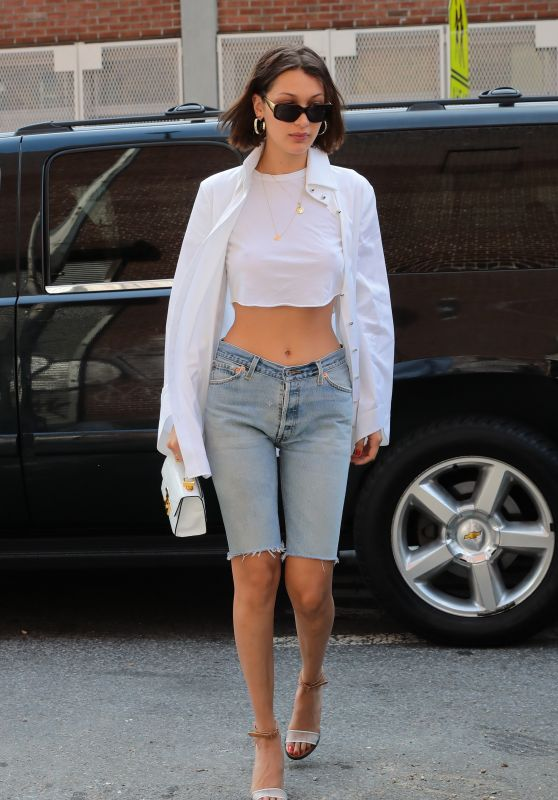 Bella Hadid - Out in NYC 07/20/2017
