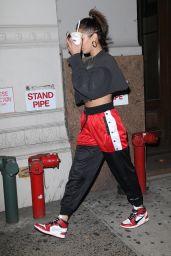 Bella Hadid Street Style - New York City 07/26/2017