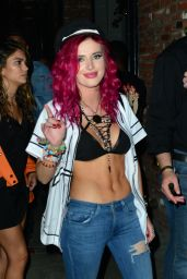 Bella Thorne - Adidas and The Manchester United Squad Present Unmissable at DREAM Hollywood 07/15/2017