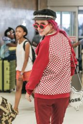 Bella Thorne - JFK Airport in New York City 07/07/2017