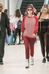 Bella Thorne - JFK Airport in New York City 07/07/2017