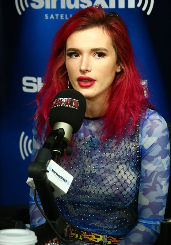 Bella Thorne - Visits SiriusXM Studios in NYC 07/17/2017