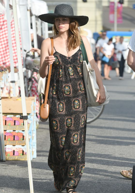 Bethany Joy Lenz - Farmers Market in Los Angeles 07/09/2017