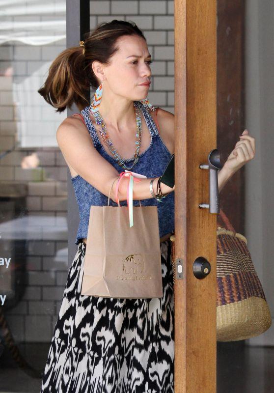 Bethany Joy Lenz - Treats Her Daughter to Ice Cream in Studio City 07/30/2017