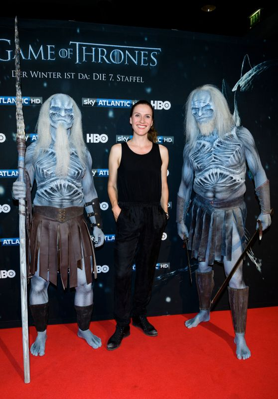 "Bettina Lamprecht – ""Game of Thrones"" Season 7 Premiere in Berlin 07/17/2017"
