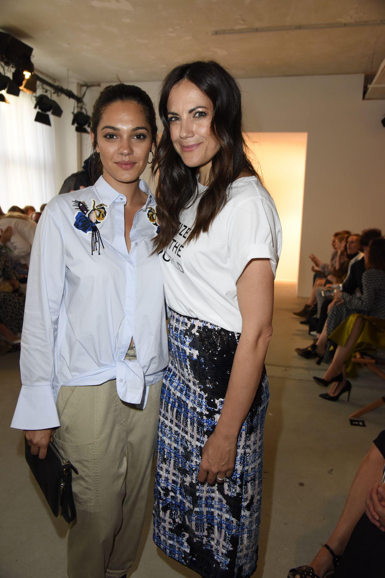 picture Lisa martinek saskia diez dorothee schumacher show mercedes benz fashion week in berlin