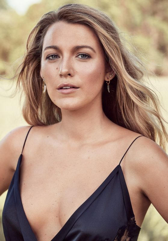 Blake Lively - Glamour Magazine September 2017 Cover and Photos
