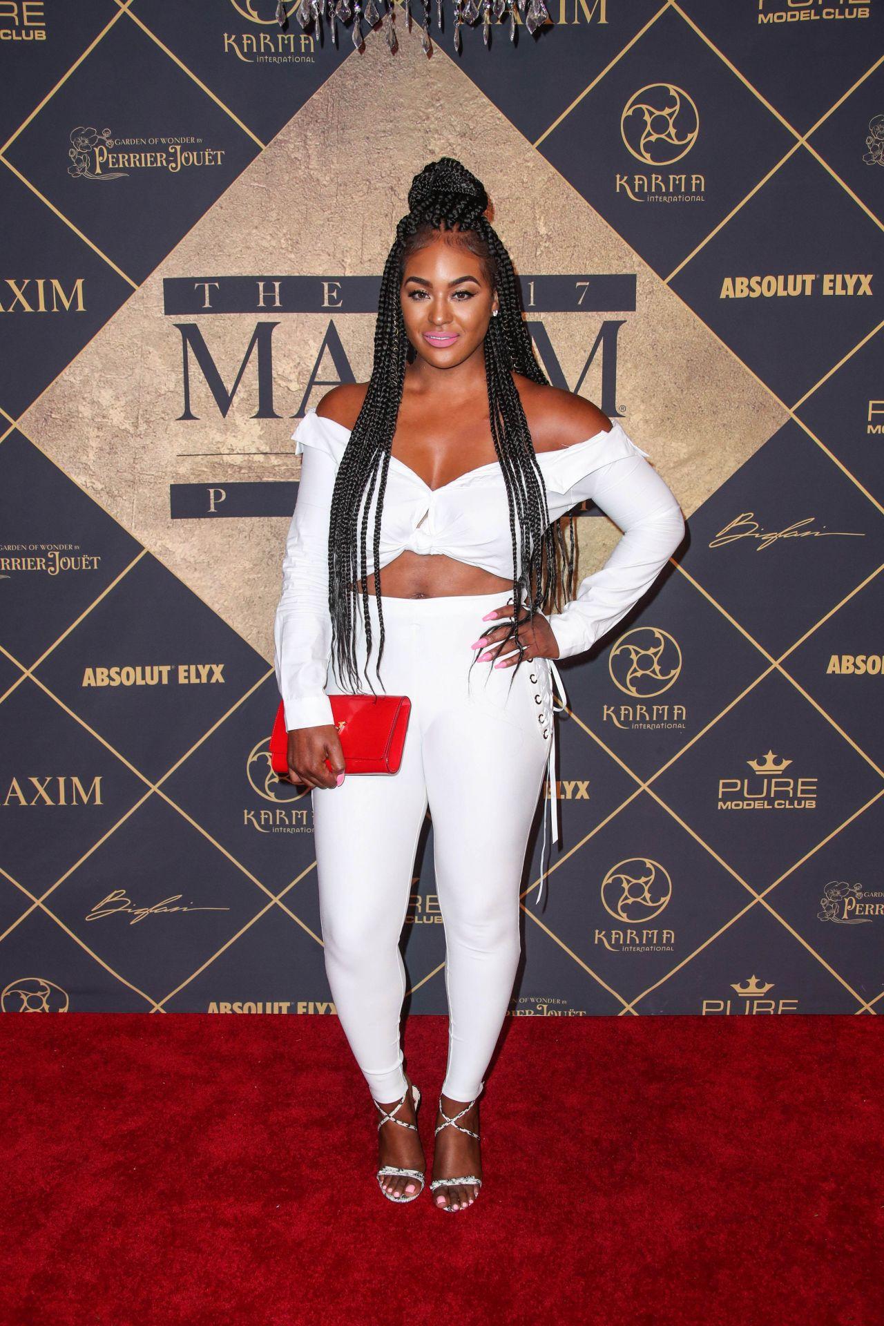 maxiell – maxim hot 100 party in los angeles 06/24/2017