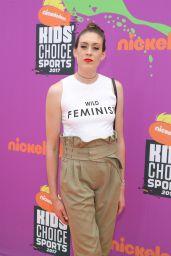 Breanna Stewart – Nickelodeon Kids' Choice Sports Awards in Los Angeles 07/13/2017