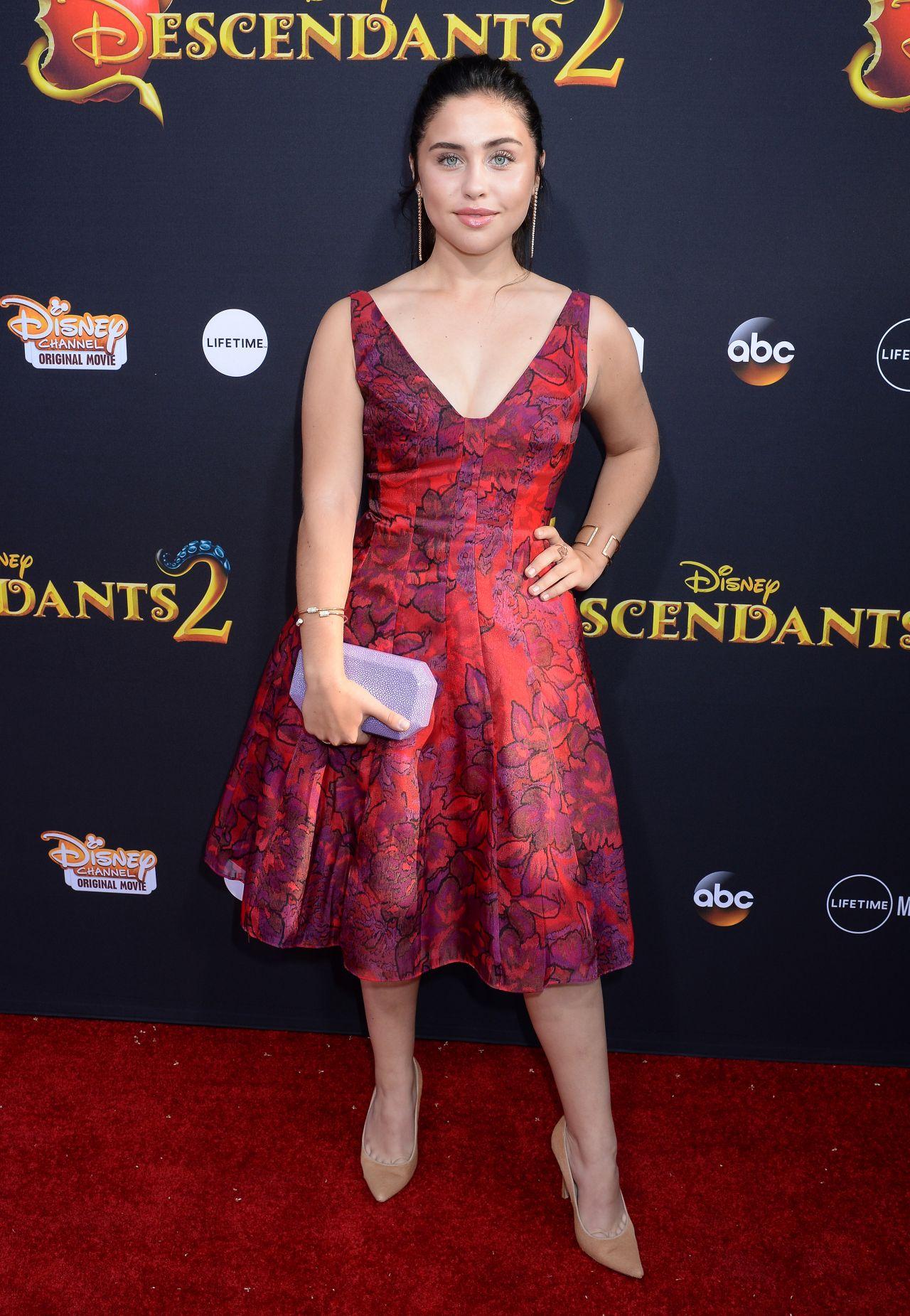 Brenna D Amico Descendants 2 Premiere In Los Angeles