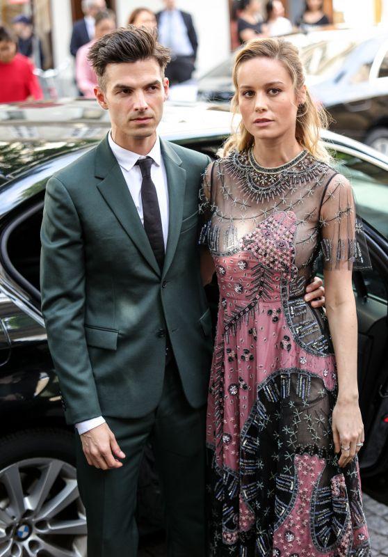 Brie Larson - Valentino Show in Paris 07/05/2017