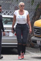 Brigitte Nielsen Street Style - Studio City 07/24/2017