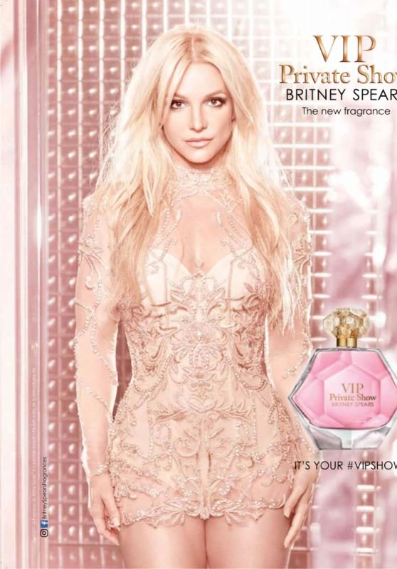 Britney Spears - VIP Private Show Fragrance Promo Photoshoot 2017