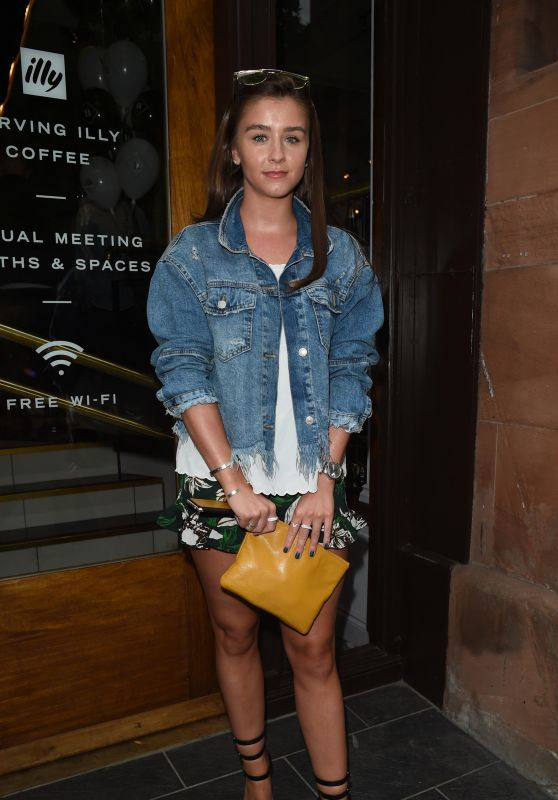 Brooke Vincent – Brasserie Abode Launch in Manchester, UK 07/13/2017