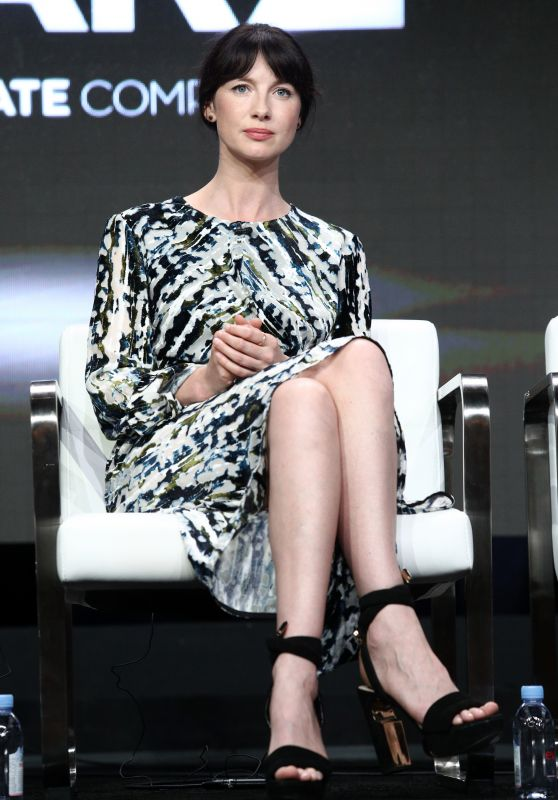 "Caitriona Balfe – Starz ""Outlander"" TV Show Panel at TCA Summer Press Tour in LA 07/28/2017"
