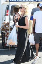Candice Accola - Goes to the Farmers Market in LA 07/23/2017