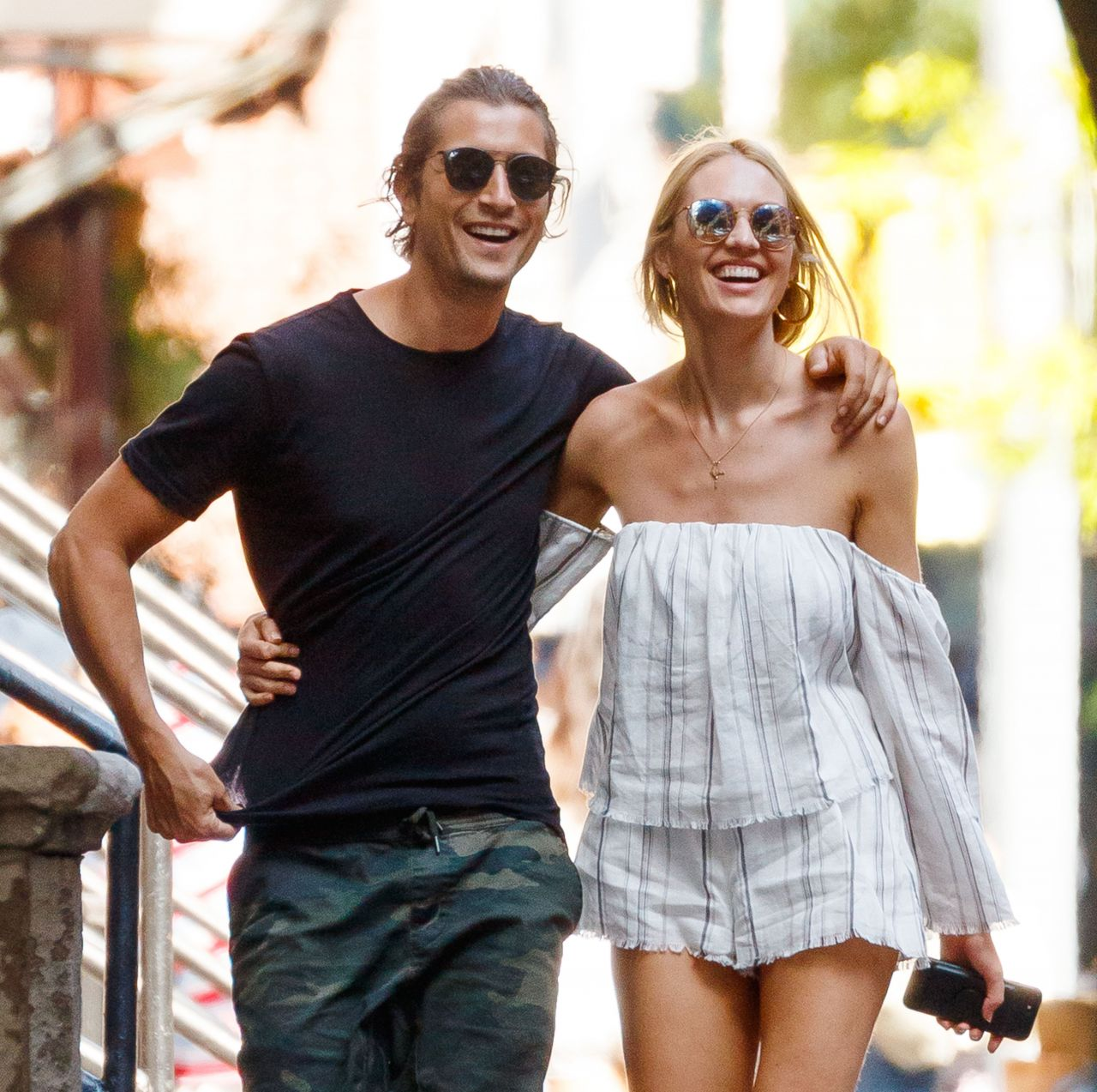 candice swanepoel and hermann nicoli going to brunch in