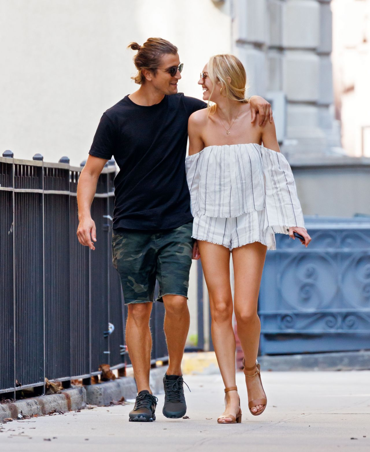 Candice Swanepoel and Hermann Nicoli - Going to Brunch in ...