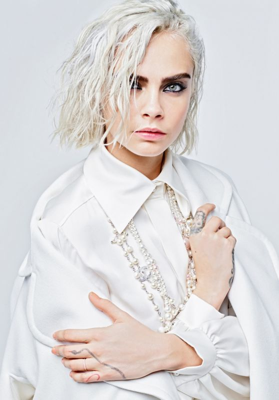 Cara Delevingne – Chanel Fall/Winter Collection 2017-2018 Photo Shoot