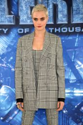 "Cara Delevingne - ""Valerian and the City of a Thousand Planets"" Photocall in London 07/24/2017"