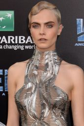 "Cara Delevingne - ""Valerian and the City of a Thousand Planets"" Premiere in Hollywood 07/17/2017"