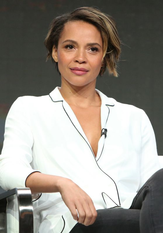 "Carmen Ejogo – Starz ""The Girlfriend Experience"" TV Show Panel at TCA Summer Press Tour in LA 07/28/2017"