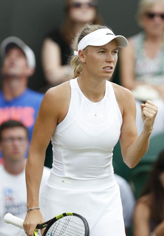 Caroline Wozniacki – Wimbledon Championships 07/10/2017