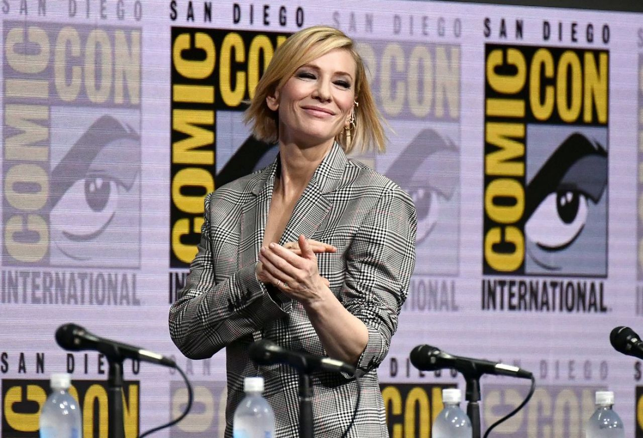 Movie Reviews And More San Diego Comic: Cate Blanchett Latest Photos