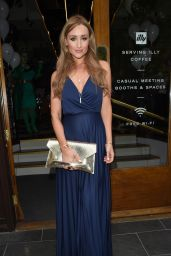 Catherine Tyldesley – Brasserie Abode Launch in Manchester, UK 07/13/2017