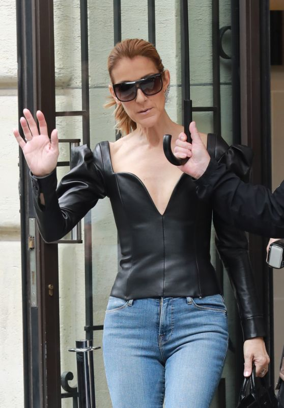 Celine Dion - Royal Monceau Paris Hotel in Paris 07/10/2017