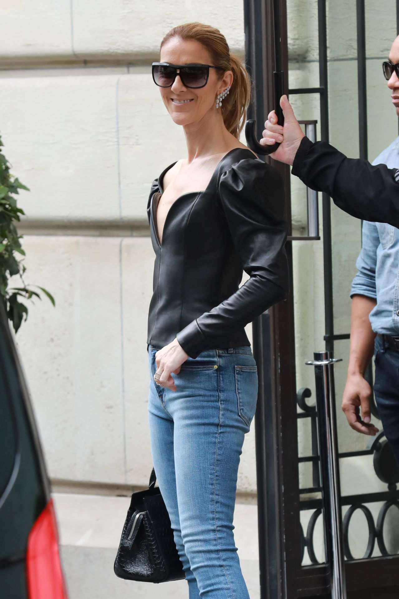 Celine Dion Royal Monceau Paris Hotel In Paris 07 10 2017