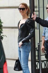 Celine Dion - Royal Monceau Paris Hotel in Paris 07/10/2017
