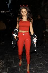 Chantel Jeffries - Arrives at the Dream Hotel in Los Angeles, CA 07/11/2017