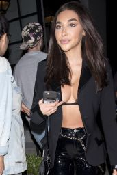 Chantel Jeffries Night Out - at Craigs