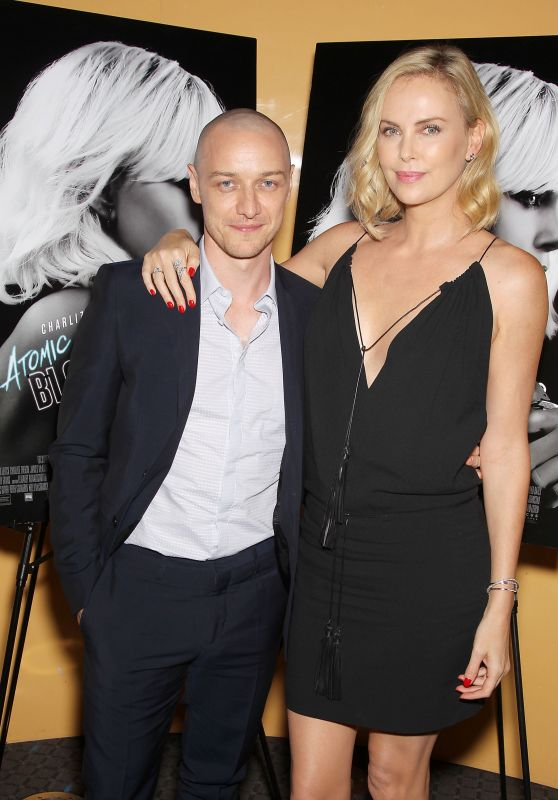 "Charlize Theron at the Stoli Vodka Advanced Screening of ""Atomic Blond"" in NY 07/19/2017"