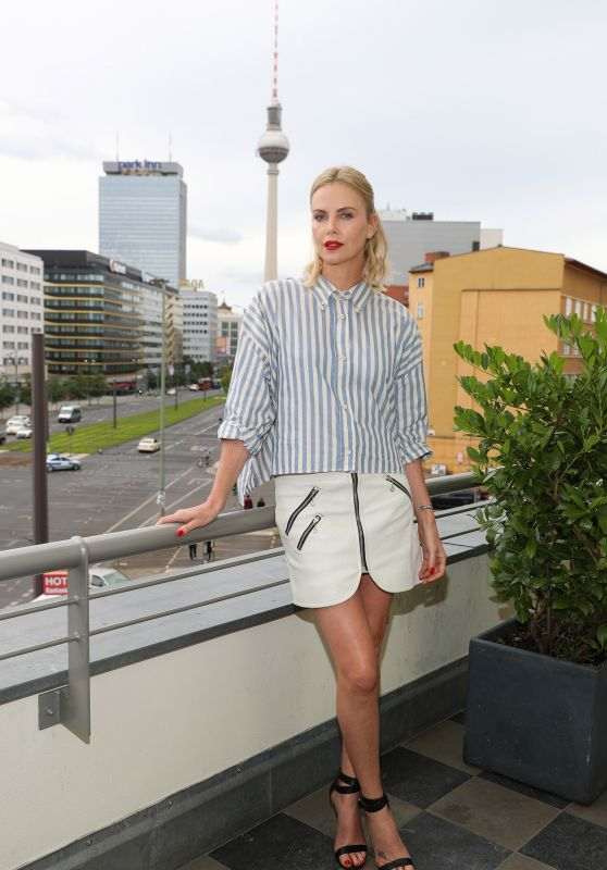 "Charlize Theron - Promotes ""Atomic Blonde"" in Berlin 07/16/2017"