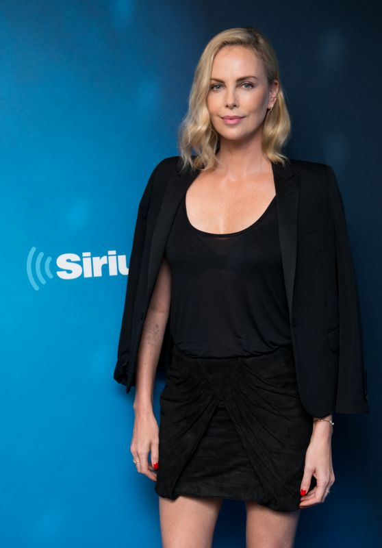 Charlize Theron - Visits SiriusXM Studios in NYC 07/19/2017