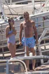Charlotte Casiraghi in Swimsuit - Monaco Yacht Club 07/03/2017