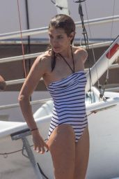 Charlotte Casiraghi in Swimsuit - Monaco Yacht Club 07/03/2017