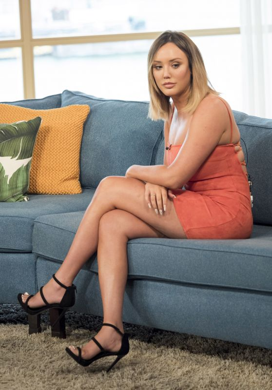 Charlotte Crosby - This Morning TV Show in London 07/03/2017