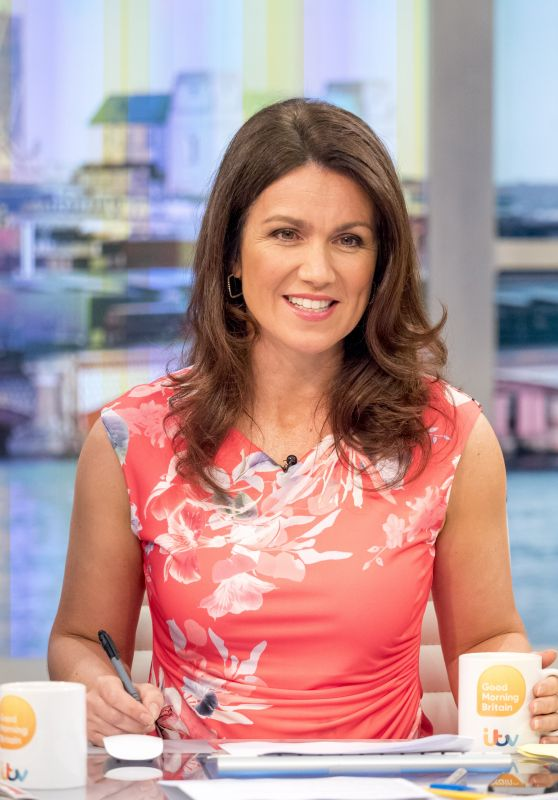 Charlotte Hawkins and Susanna Reid - Good Morning Britain TV Show in London 07/19/2017