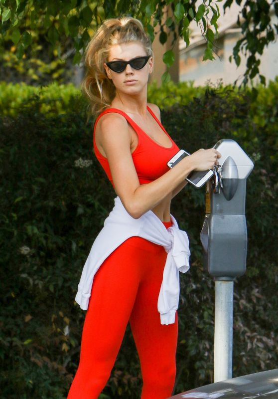 Charlotte McKinney - Out in Beverly Hills 07/18/2017