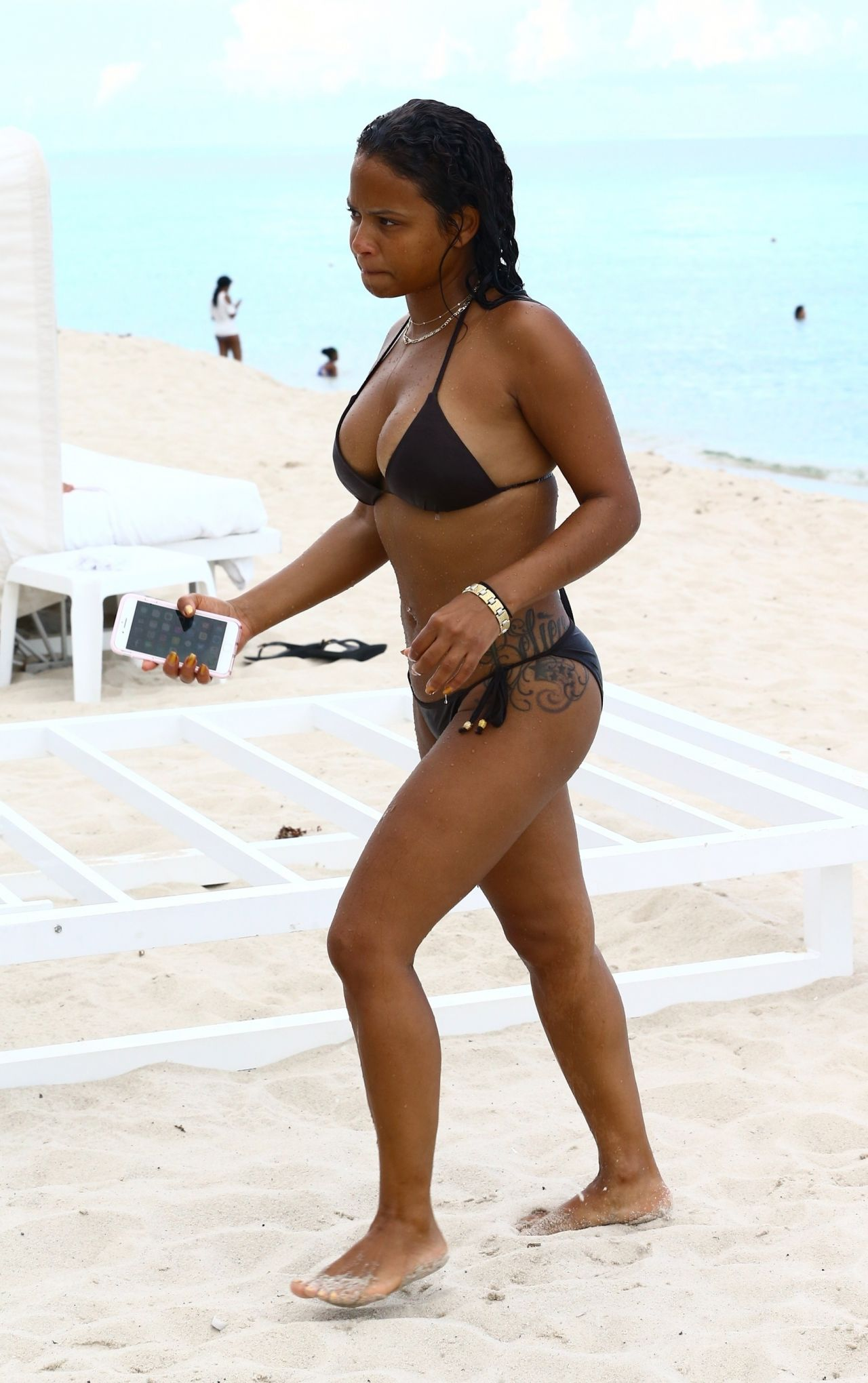 Christina milian beach video clips 5