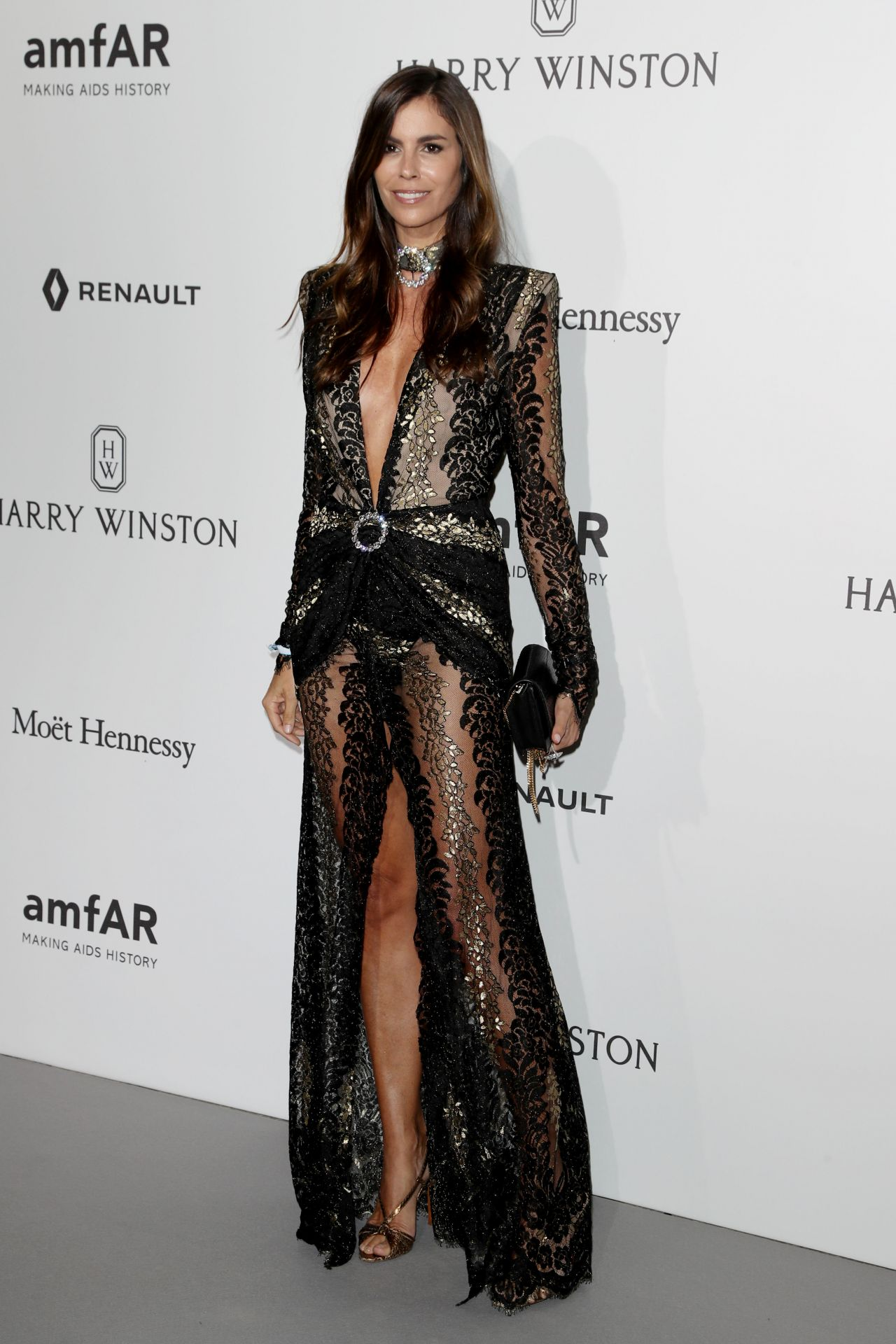 Christina pitanguy at amfar gala haute couture fashion for Haute couture fashion